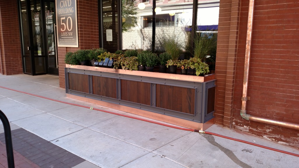 Custom Canopy and Planter Boxes