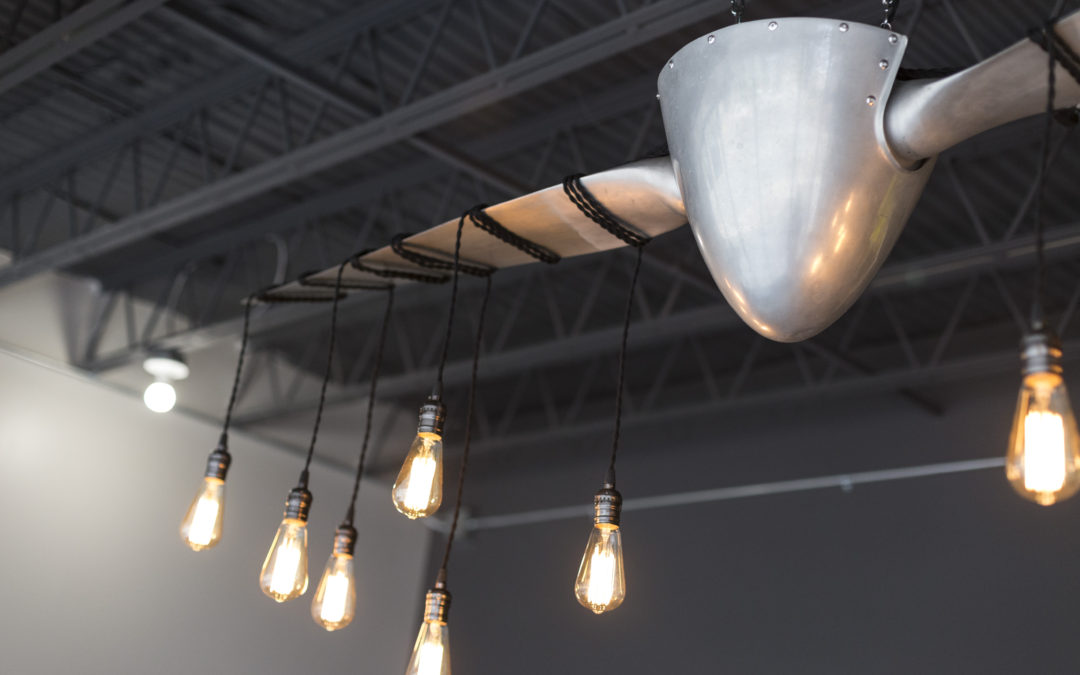 Custom Propeller Chandelier | Treadstone Funding